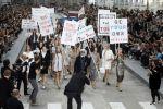 Protesta en el Boulevard