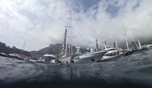 Luxury Superyachts At The Monaco Yacht Show