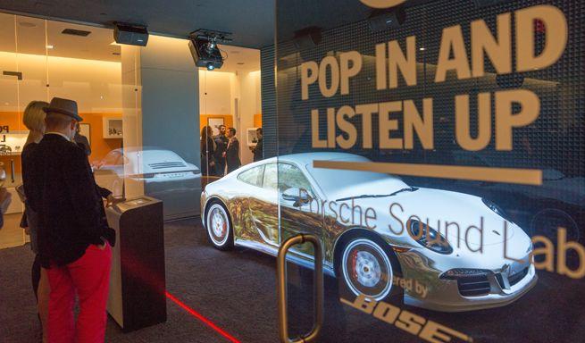 El sonido de Porsche