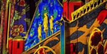 Glow festival of lights art